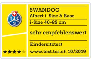 Стол за кола Swandoo Albert i-Size (0-13 кг)